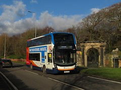 Stagecoach Merseyside & S Lancs 15299 Ince Blundell near Liverpool (transportofdelight) Tags: stagecoach merseyside 15299 yn67yks inceblundell liverpool
