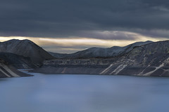 lucky peak-12-19-17-30-2 (Ken Folwell) Tags: mountains water reservoir lake clods sky winter landscape mountain idaho outdoors