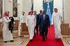 Visite Officielle de HH L'Emir du Quatar Sheikh Tamim bin Hamad Al Thani (République du Sénégal) Tags: quatar