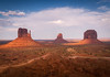 Monument Valley (andreassofus) Tags: monumentvalley themittens mittens utah usa america navajo navajonation desert rocks redrock landscape nature grandlandscape light sunlight sunset sky clouds bluesky dust sand sandy saummer summertime travel travelphotography beautiful powerful