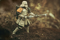 BANDAI TAMASHII NATIONS Bandai Tamashii Nations Star Wars StormTrooper (jezbags) Tags: bandai tamashii nations star wars stormtrooper samurai starwars explosion sepia toys toy actionfigure macro macrophotography macrodreams canon canon80d 80d