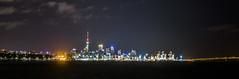 A christmas version of Auckland city night view (pippuriric) Tags: christmas nightview night xmas illumitation light cityview city auckland newzealand oceania
