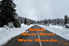Happy New Year... (Κώστας Καϊσίδης) Tags: happynewyear wishes 2018 snow outdoor mtoiti road forest mountain clouds trees greece