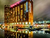 Doubletree Hilton HDR (tubblesnap) Tags: low light fuji xs1 lightroom night leeds reflection hdr canal wharf wharfe granary holbeck wet doubletree hilton livin italy reflections colourful dramatic sky high dynamic range tonemapped