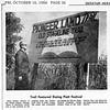 PIATT CO 'PIONEER LAND TRAIL' SIGN, 1966-10-14 (RLWisegarver) Tags: piatt county history monticello illinois usa il