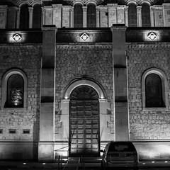 (viiv127) Tags: noir blackandwhite blancoynegro city ciudad durango mexico square proportion studies digitalnoise