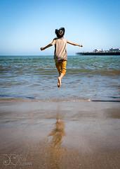 Elevated (jessecoleman2k) Tags: water jump ocean beach pier sanfrancisco ca usa