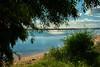 Lagoon (baratapires43) Tags: lagoon blue water summer colors green cabanas ria formosa algarve portugal