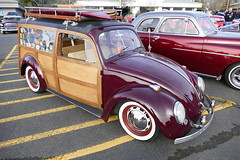 VW Woody (bballchico) Tags: vw volkswagen woody stationwagon newyearscoolcarcruise carshow surfwagon