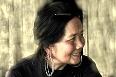 sapa woman (hmong135) Tags: woman vietnamese vietnam blackhmong trek rice farm portrait