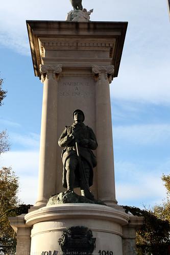 FR10 9468 WWI Monument. Narbonne, Aude, Languedoc
