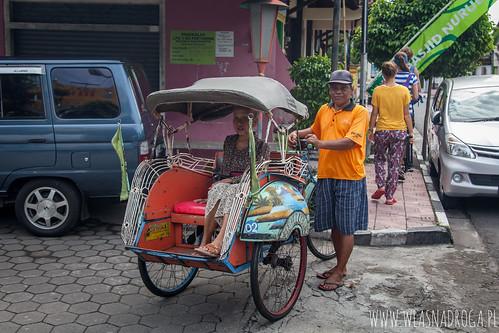 Transport miejski, Yogyakarta