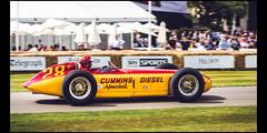 Kurtis Kraft Cummins Diesel Special (1952) (Laurent DUCHENE) Tags: goodwoodfestivalofspeed fos 2017 car motorsport kurtis kraft cummins diesel special