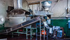 2017 - Mexico - Zihuatanejo - Tortilla Production (Ted's photos - For Me & You) Tags: 2017 cropped mexico nikon nikond750 nikonfx tedmcgrath tedsphotos tedsphotosmexico vignetting zihuatanejo tortilla tortillamachine machine motor industrial fan electricmotor hopper tortillamaker