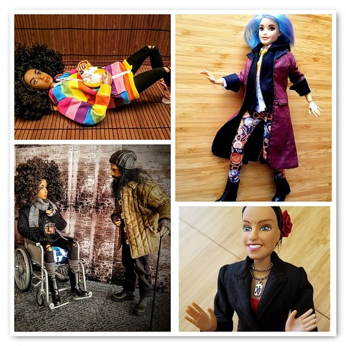 my dolls of the year 2017 - fun with customs