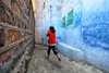 rajasthan - india 2018 (mauriziopeddis) Tags: mccurry jodhpur rajasthan india asia run red blu wall mura hand people children reportage omaggio street