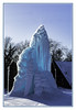 """Every year these folks up the road from us set up their sprayers and lights and create this sort of large ice sculpture. I refer to it as """"the blue monster"""" (TAC.Photography) Tags: sculpture ice blue blueice winter spray essexville michigan frozen freeze freezing icesculpture tomclarkphotographycom tacphotography tomclark d7100"""