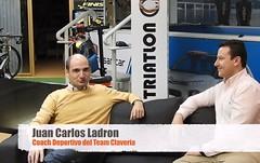 Juan carlos Ladrón coach deportivo team clavería triatlón world
