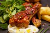 Mississippi BBQ 🍗 chicken drumsticks oooooh yeah !!!! (TwoPenceMedia) Tags: watercress tasty yummy yum ahhhh lovefood legs mississippi foodgasm sauce spicy poultry chunky chips bluecheese bbq manorfarm foodie food green red drumsticks