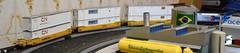 12 - Kato Ho - Locomotiva Ge P42 Amtrak - #156 + Locomotiva Sd45 Santa Fé-004 (Diecasts Collectors Brasil) Tags: kato ho locomotiva ge p42 amtrak 156 sd45 santa fé gunderson maxiiv ttx new logo 765122 contêineres cn 53 emp