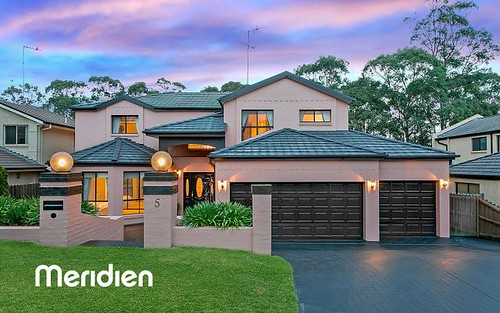 5 Chateau Cl, Kellyville NSW 2155