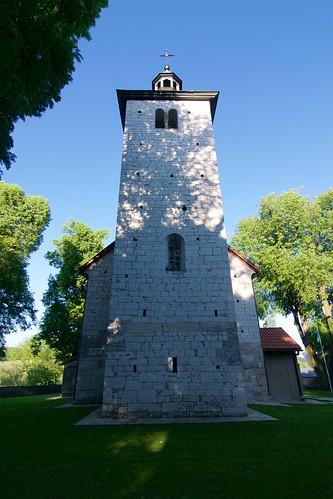 Kościół św. Mikołaja w Wysocicach od zachodu