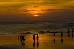 Sunrise / Sunset #13 (foto.karlchen) Tags: kuta bali indonesien sunrise sunset
