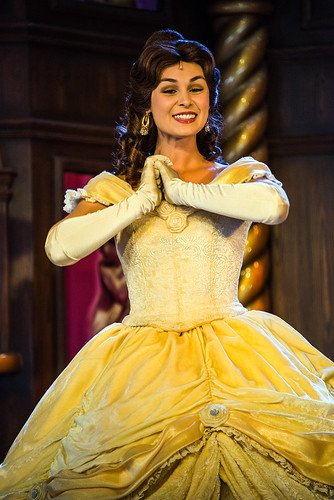Belle - Royal Theatre - Disneyland - Beauty and the Beast show