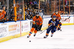 "Kansas City Mavericks vs. Colorado Eagles, December 16, 2017, Silverstein Eye Centers Arena, Independence, Missouri.  Photo: © John Howe / Howe Creative Photography, all rights reserved 2017. • <a style=""font-size:0.8em;"" href=""http://www.flickr.com/photos/134016632@N02/39106605542/"" target=""_blank"">View on Flickr</a>"