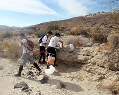 028 Drinking While Orienteering (saschmitz_earthlink_net) Tags: 2017 california orienteering redrockcanyon statepark laoc losangelesorienteeringclub mojavedesert desert kerncounty elpasorange