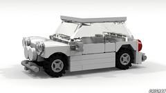Mini Cooper (LDD Building Instructions) by  Criga88 (Repubrick.com) Tags: repubrickcom buildinginstructions lego ldd lddfile mini cooper city car
