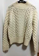 Aranstyle wool jumper (Mytwist) Tags: aranstyle wool irish style fashion fisherman cabled herritage sweater jumper knit woollen fetish niinjabarn hm donegal