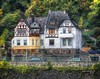 German House on the River Rhine at Lahnstein (PhotosToArtByMike) Tags: lahnsteingermany riverrhine mansion germanhouse lahnstein oberlahnstein rhine medieval lahnvalley rhinegorgeunescoworldheritagesite germany rhinevalley rhinegorge middlerhinevalley