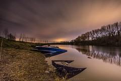 Sunk (ristic.vedran42) Tags: nightscape landscape longexposure lake nikon d3200 nikond3200 samyang samyanglens samyang10mm uwa osijek croatia