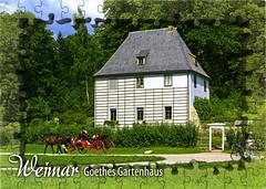 postcard - from Niklot, Germany (Jassy-50) Tags: postcard postcrossing goethesgardenhouse goethe gardenhouse parkanderilm park ilm horseandcarriage horse carriage unescoworldheritagesite unescoworldheritage unesco worldheritagesite worldheritage whs