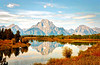 Mount Moran in Grand Teton NP - Reflection in Snake River (BlueVoter - thanks for 2M views) Tags: grandteton reflection nationalpark wyoming mountmoran snakeriver