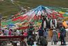 Busy Market - Tibet (cattan2011) Tags: 中国 西藏 traveltuesday travelbloggers travelphotography travel mountainsides mountains mountainscape streetpics streetphoto streetphotography streetart street landscapephotography china landscape tibet tibetan market