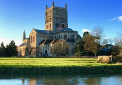 Tewkesbury abbey (John Glass) Tags: abbey cathedral church christian tewkesbury cotswolds