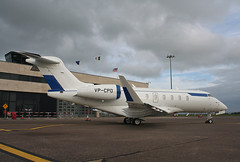 VP-CPO Challenger 350 (corkspotter / Paul Daly) Tags: vpcpo bombardier bd1001a10 challenger 350 cl35 20688 l2j 4247b9 deutsche vermoegensberatung ag 2017 cgowy 201707 ork eick cork airplane