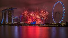Marina Bay Singapore Countdown 2018 (BP Chua) Tags: singapore asia countdown countdown2018 water reflection colours red river marinabay marinabaysingapore marinabaysg marinabaysands singaporeflyer night fireworks celebration 2018 landscape city cityscape nikon d800e