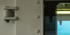 13-12-15 loog fähr still min lamp refl  p1060253-1 (u ki11 ulrich kracke) Tags: 2mal3mal durchblick fenster fähre lampe langeoog minimal nah niete reflektion scharnier schraube spiegel textur tröppflock tür vertikale macro 7dwf