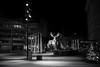 city deer (Toni_V) Tags: m2406148 rangefinder digitalrangefinder messsucher leica leicam mp typ240 type240 35lux 35mmf14asph 35mmf14asphfle summiluxm night nacht weihnachtsbeleuchtung sihlcity shoppingcenter city stadt zurich zürich bw monochrome blackwhite schwarzweiss switzerland schweiz suisse svizzera svizra europe ©toniv 2017 171229 hirsch deer stadthirsch utoplatz