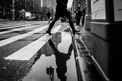 If you find a path with no obstacles, it probably doesn't lead anywhere. (tinto) Tags: 2017 28mm fuji fujifilm fujilove fujix100t fujixseries manhattan mirrorless newyork nyc tintography vsco vscofilm wclx100 wideangel x100t puddle refelction street streetphotography streetphoto streephotography