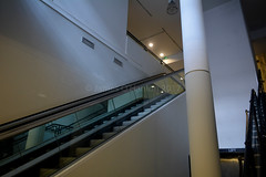 Modern elevators upto first floor (James O'Hanlon) Tags: lord street st lordst lordstreet arcade shopping magno house bhs blacklers units shops 1901 building old historical liverpool merseyside lordstreetarcade lordstarcade