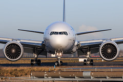 B777-300 / Air France / F-GZNO (Verco91) Tags: boeing b777 fgzno 777300 air france plane rolling taxiway airport paris roissy cdg