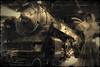 """en Voiture ... ( P-A) Tags: souvenirs suie tchoutchou trainvapeur transport valises voieferrées voyages visite muséedessciencesetdelatechnologie ottawaon nikond800 vintage ajoutdepersonnes photos simpa© """"nikonflickraward"""""""