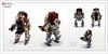 Raptor series: Star Wars (Brixnspace) Tags: raptor walker frame powersuit suit lego moc toy biped space star wars starwars republic clone blasters blaster cannon sw starwarsweek