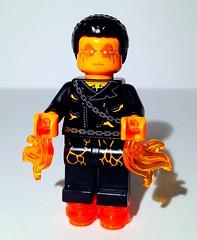 Custom Firestorm Minifigure (ColbyBricks) Tags: colby ostrin firestorm lego toy flame fire storm finn cole ghost rider dc comics super hero custom minifigure