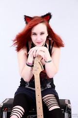 .:Roxann:. (JustGeraldMedia) Tags: justgeraldmedia roxanne detroit detroitmodel rockstar guitar punk alternative alt grunge