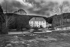 Urbex (florian_graessel) Tags: abandonned place lost white black light urbex abandonné landscape